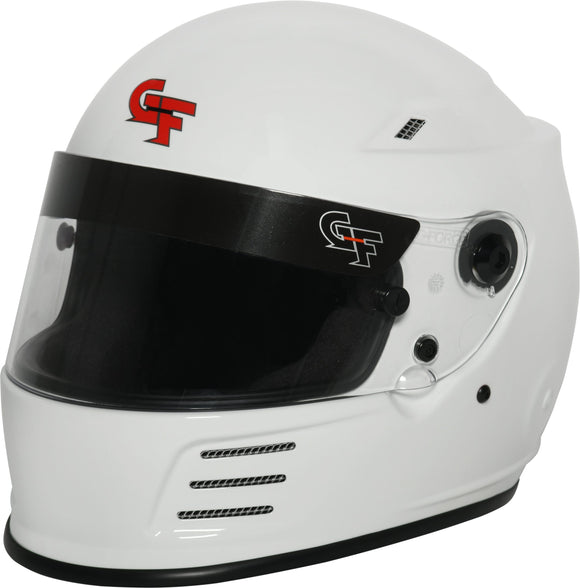 G-FORCE - G-Force Revo SA2020, Head and Neck Support Ready - Medium - Helmet -G-Force, Helmet - 13004MEDWH - Tatis Motorsports