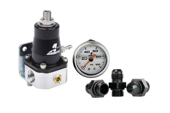 Aeromotive Compact EFI Regulator and Fitting Kit 13130-EFi Regulator-Aeromotive-Aeromotive, EFi Regulator-Tatis Motorsports