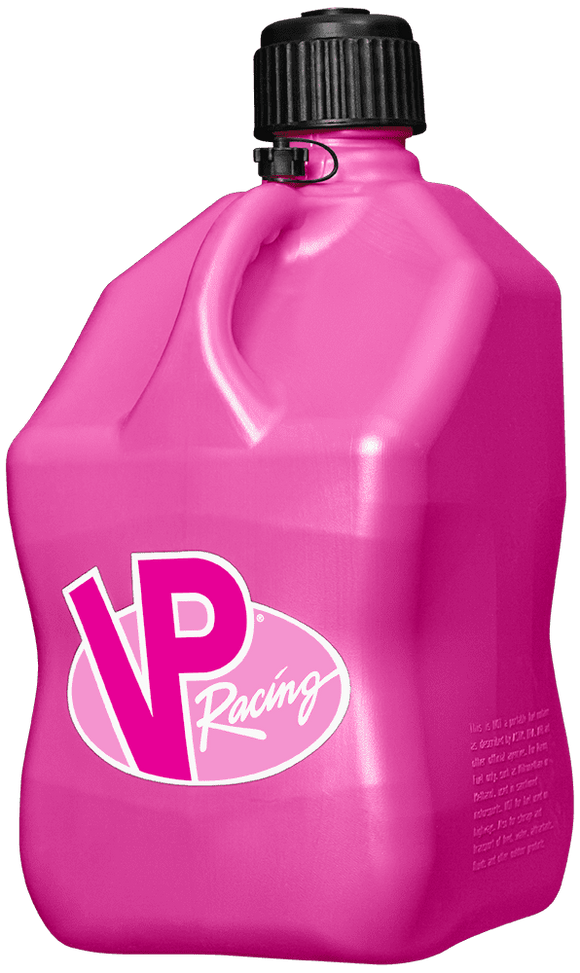 VP Racing Fuels - VP Racing Fuels Pink 3812 Motosport Jug 5 Gallon Capacity - Fuel Container -Fuel Container, VP Racing Fuels - VPF3812 - Tatis Motorsports