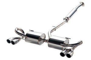 HKS - HKS 32018-AF009 LEGAMAX Sports Exhaust with Bumber Garnish (Subaru BRZ, Scion FR-S, Toyota 86) - Exhaust -Exhaust, HKS, Scion FR-S, Subaru BRZ, Toyota 86 - 32018-AF009 - Tatis Motorsports