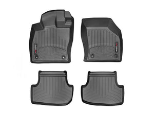 WeatherTech DigitalFit™ 1st & 2nd Row Black Molded Floor Liners 44496-1-2 VW Golf GTI-Interior Accessories-Weather Tech-Interior Accessories, VW GTI, Weather Tech-Tatis Motorsports