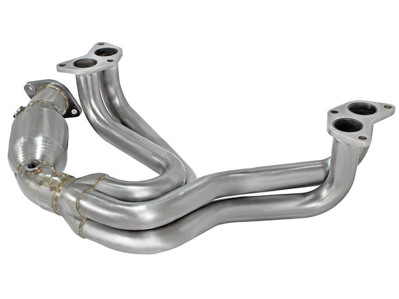 aFe Power - aFe Power Street Series Twisted Steel Long Tube Header 4-1 (86,BRZ,FR-S) 48-36005-HC - Header -aFe Power, Header, Scion FR-S, Subaru BRZ, Toyota 86 - 48-36005-HC - Tatis Motorsports