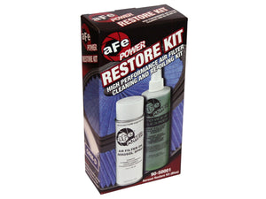 aFe Power Air Filter Restore Kit 6.5oz Blue Oil & 12oz Power Cleaner 90-50001-Air Filters-aFe Power-aFe Power, Air Filter-Tatis Motorsports