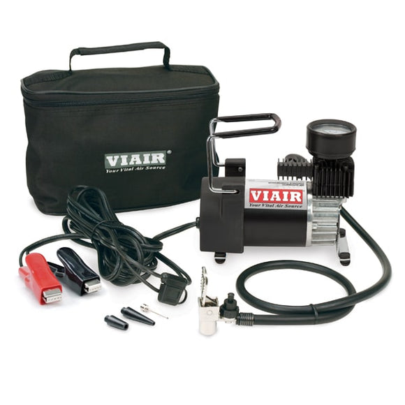 VIAIR - VIAIR 90P Portable Compressor Kit (12V 30 Min. @ 30 PSI 120 PSI) - Air Compressor -Air Compressor, VIAIR - 00093 - Tatis Motorsports