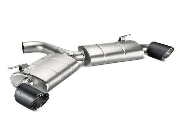Akrapovic Titanium Slip-On Exhaust System (2016 VW Golf MKVII MK7 GTI) MTP-VW/T/1H-Exhaust-Akrapovic-Akrapovic, Exhaust, VW GTI MKVII (MK7)-Tatis Motorsports