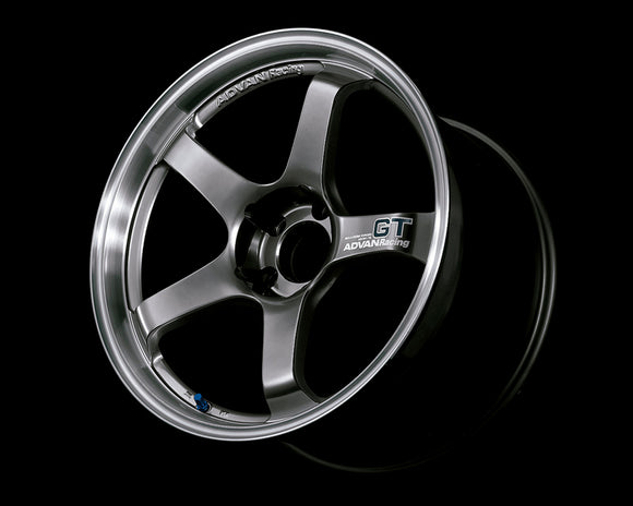 Advan Racing GT Premium Wheel for Porsche 18x10 5x130 +40mm Machining Hyper Black-Wheels-Advan Racing-18x10 5x130 40mm, Advan Racing, Porsche, Wheels-Tatis Motorsports