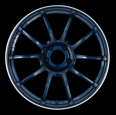 Advan Racing RZII Wheel 18x9.5 5x114.3 +35mm Indigo Blue-Wheels-Advan Racing-18x9 5x114.3 35mm, Advan Racing, Honda S2000, RZII, Wheels-Tatis Motorsports