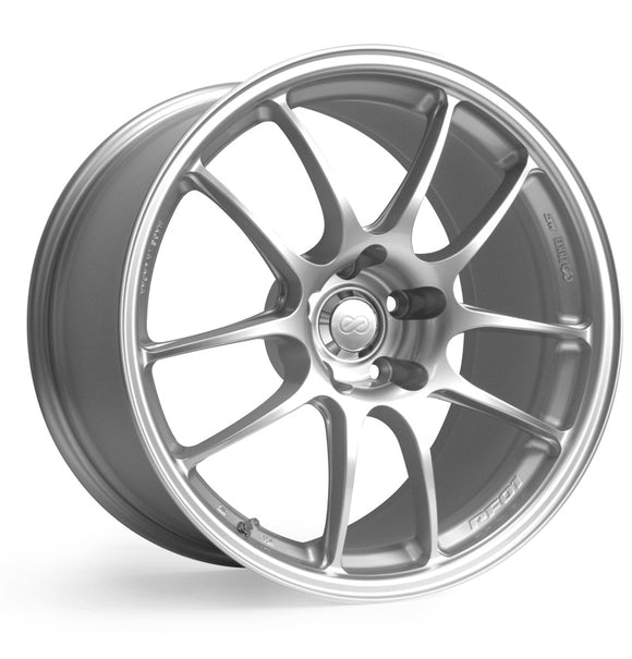 Enkei PF01 Wheel Racing Series Silver 15x8 4x100 +35mm-Wheels-Enkei-15x8 4x100 35mm, Enkei, Honda Civic, Wheels-Tatis Motorsports