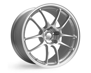 Enkei PF01 Wheel Racing Series Silver 16x7 4x100 +43mm-Wheels-Enkei-16x7 4x100 43mm, Enkei, Honda Civic, Wheels-Tatis Motorsports