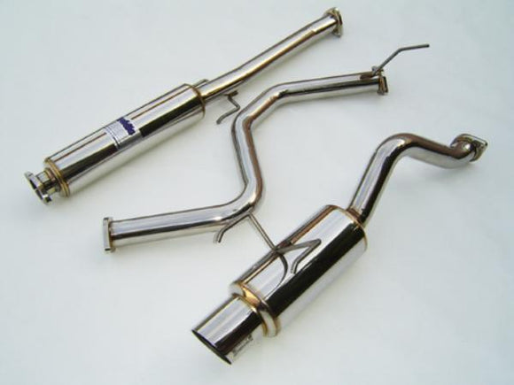 Invidia HS96HC3GTP N1 Cat-Back Exhaust (92-00 Honda Civic Hatchback)-Exhaust-Invidia-Exhaust, Honda Civic, Invidia-Tatis Motorsports