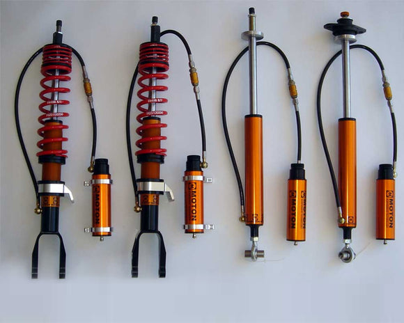 Moton 3 Way Damper System (00 - 09 Honda S2000) M504-011-Coilovers-Moton Suspension-Coilover, Honda S2000, Moton Suspension-Tatis Motorsports
