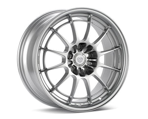 Enkei NT03+M Wheel Racing Series Silver 17x7.5 4x100 40mm-Wheels-Enkei-17x7.5 4x100 40mm, Enkei, Honda Civic, NT03+M-Tatis Motorsports