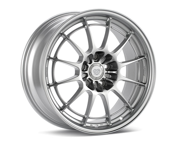 Enkei - Enkei NT03+M Wheel Racing Series Silver 17x7.5 4x100 40mm - Wheels -17x7.5 4x100 40mm, Enkei, Honda Civic, NT03+M - 3657754940SP - Tatis Motorsports
