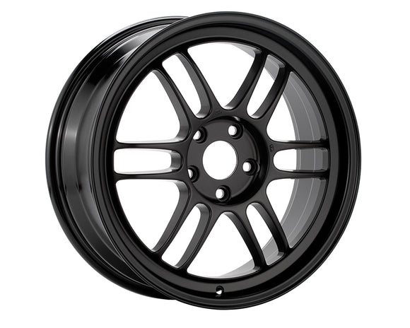 Enkei RPF1 Wheel Racing Series Black 16x7 4x100 +43mm-Wheels-Enkei-16x7 4x100 43mm, Enkei, Honda Civic, RPF1, Wheels-Tatis Motorsports