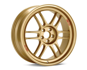 Enkei RPF1 Wheel Racing Series Gold 15x8 4x100 +28mm-Wheels-Enkei-15x8 4x100 28mm, Enkei, Honda Civic, RPF1, Wheels-Tatis Motorsports