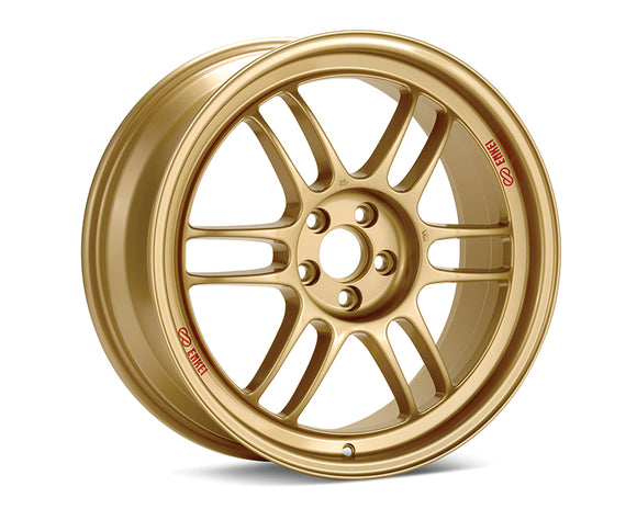 Enkei - Enkei RPF1 Wheel Racing Series Gold 15x8 4x100 +28mm - Wheels -15x8 4x100 28mm, Enkei, Honda Civic, RPF1, Wheels - 3795804928GG - Tatis Motorsports