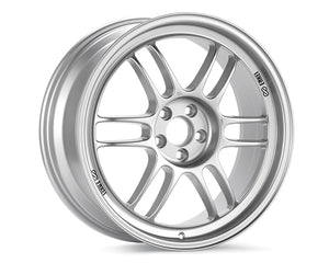 Enkei RPF1 Wheel Racing Series Silver 15x7 4x100 +41mm-Wheels-Enkei-15x7 4x100 41mm, Enkei, Honda Civic, RPF1, Wheels-Tatis Motorsports