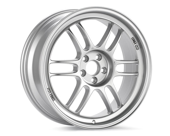 Enkei RPF1 Wheel Racing Series Silver 17x7 4x100 +43mm-Wheels-Enkei-17x7 4x100 43mm, Enkei, Honda Civic, RPF1, Wheels-Tatis Motorsports