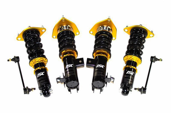 ISC - ISC Suspension S018-S N1 Coilovers Street Sport Series (Subaru BRZ, Scion FR-S, Toyota 86) (S018-S) - Coilovers -Coilover, ISC Suspension, Scion FR-S, Subaru BRZ, Toyota 86 - S018-S - Tatis Motorsports