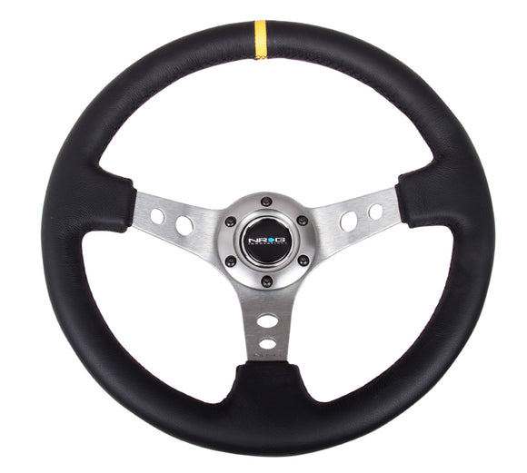 NRG Innovations Reinforced Sport Steering Wheel 350mm 3