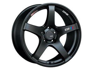 SSR GTV01 Wheel Flat Black 18x9 5x114.3 +35 - Includes Center Cap-Wheels-SSR-18x9 5x114.3 35mm, GTV01, Honda S2000, SSR, Wheels-Tatis Motorsports