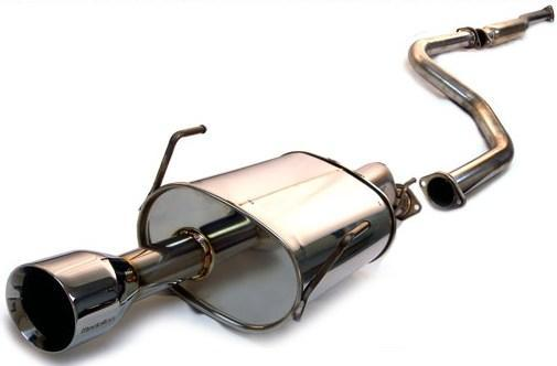 Tanabe - Tanabe Medalion Touring Catback Exhaust (96 - 00 Honda Civic Cpe/Sedan Si/EX) T70017 - Exhaust -Exhaust, Honda Civic, Tanabe - T70017 - Tatis Motorsports