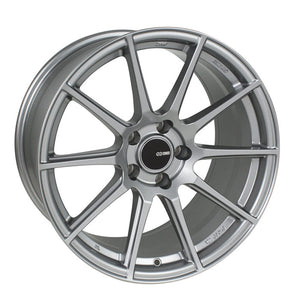 Enkei TS10 Wheel Tuning Series Storm Gray 17x8 4x100 +40mm-Wheels-Enkei-17x8 4x100 40mm, Enkei, Honda Civic, TS10, Wheels-Tatis Motorsports