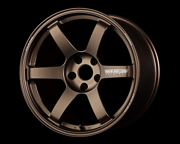 Volk Racing TE37 Saga 18x9.5 5x120 +45 Bronze-Wheels-Volk Racing Wheel-18x9.5 5x120 45mm, Honda Civic Type R FK8, Volk Racing Wheel-Tatis Motorsports