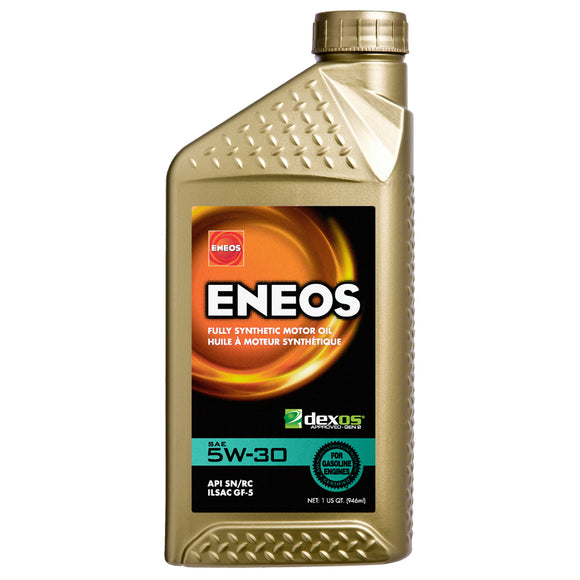 Eneos 5W-30 Fully Synthetic Motor Oil (3703-300) - Case of (6) Quarts-Motor Oil-Eneos-5W-30, Eneos, Honda Civic, Honda Civic Type R FK8, Honda Del Sol, Honda S2000, Motor Oil, Scion FR-S, Subaru BRZ, Toyota 86-Tatis Motorsports