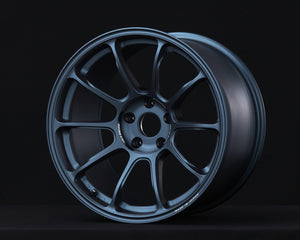 Volk Racing ZE40 18x9.5 5x120 +40 Matte Blue Gunmetal-Wheels-Volk Racing Wheel-18x9.5 5x120 40mm, Honda Civic Type R FK8, Volk Racing Wheel-Tatis Motorsports