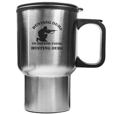 14oz Busting Ours to Defend Yours Busting Ours Mug L1