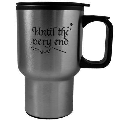 14oz Until The Very End stainless steel mug W/Handle L1