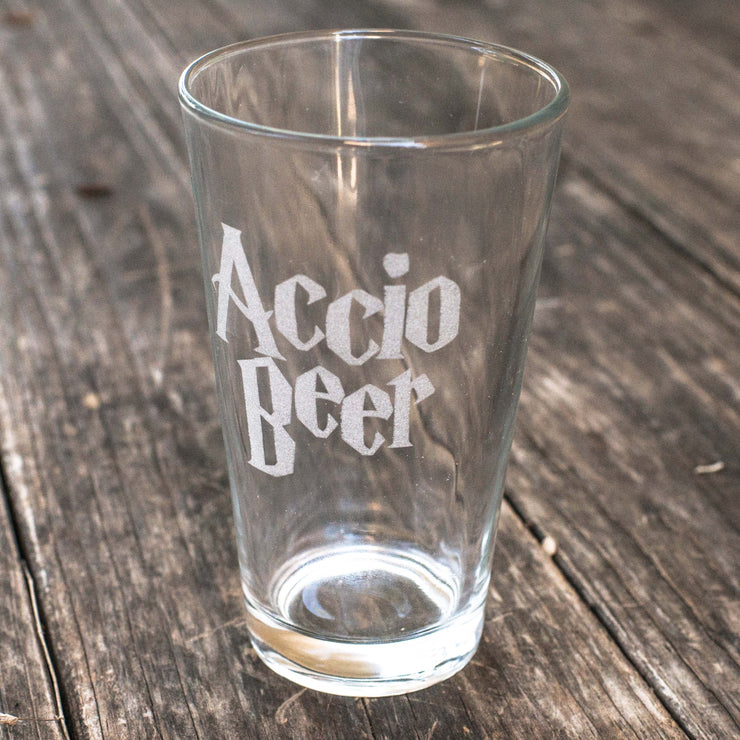 16oz Accio Beer Glass