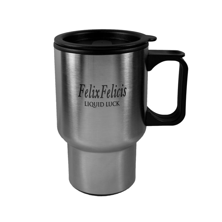 14oz Felix Felicis Liquid Luck Stainless Steel Travel Mug Tumbler With Handle L1