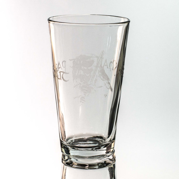 16oz GLASS You Shall Not Pass Out Beer Glass