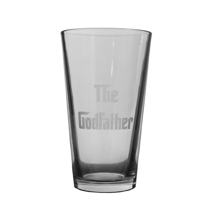 16oz GLASS The Godfather Beer Glass L1