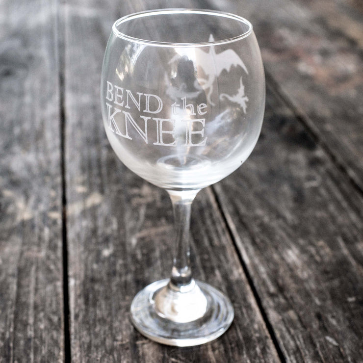 20oz Bend the Knee Wine Glass L1
