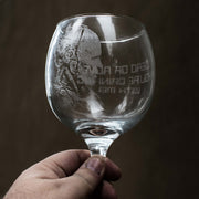 20oz Dead or Alive Wine Glass L1