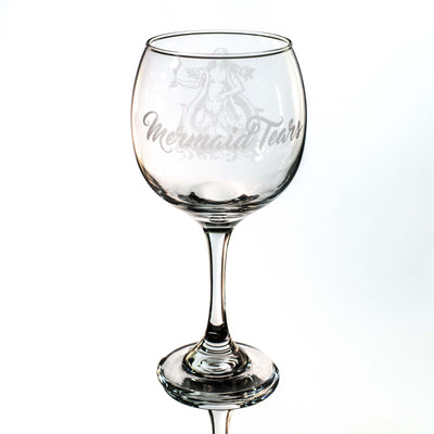 20oz Mermaid Tears Wine Glass L1