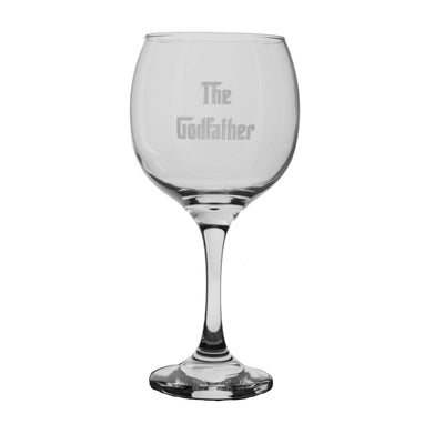 20oz The Godfather Wine Glass