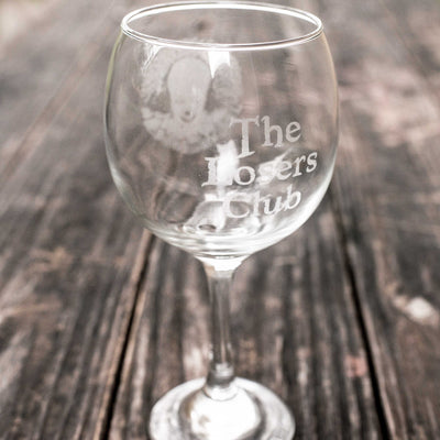 20oz The Losers Club Wine Glass