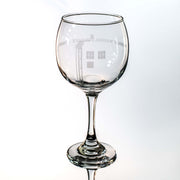 20oz Wibbly Wobbly Wine Glass L1