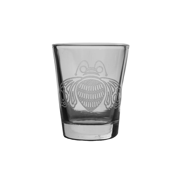 2oz Bee Shot Glass