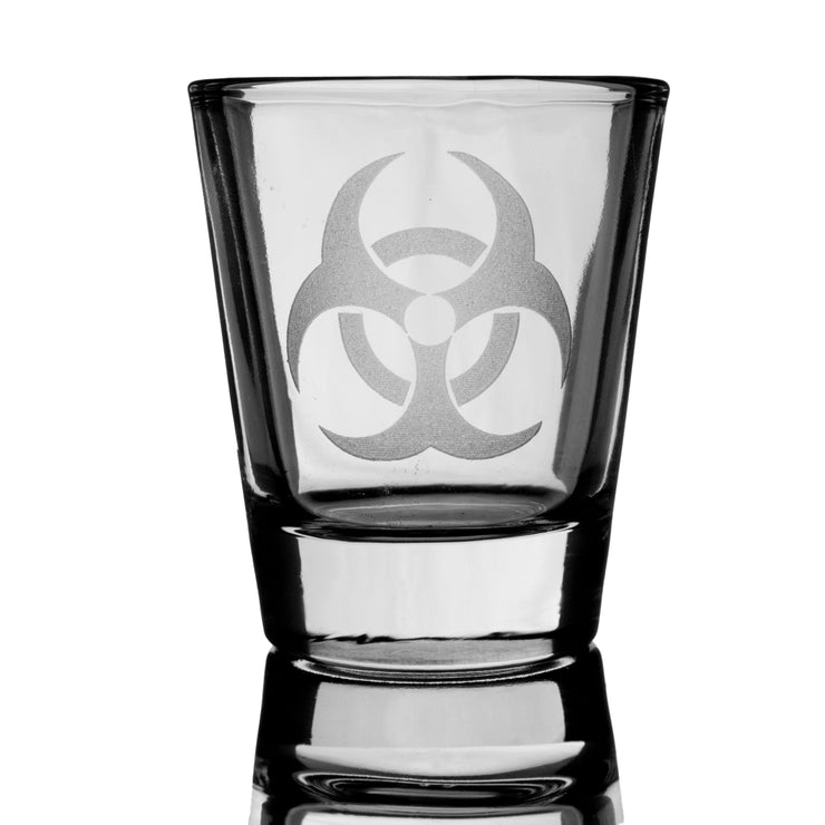 Biohazard Shot Glass
