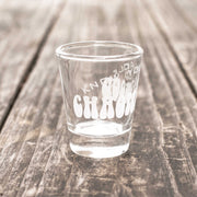 Chaotic Good - Know Your Role - Shot Glass
