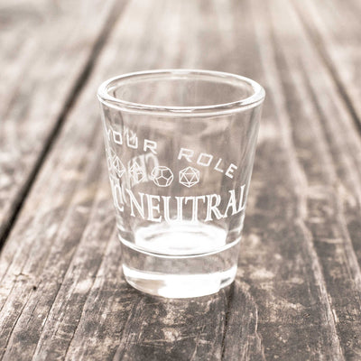 Chaotic Neutral - Know Your Role - Shot Glass