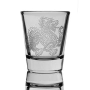 Dragon two Shot glass