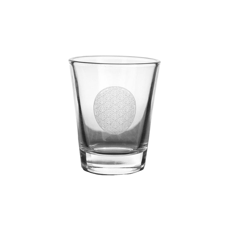 2oz Flower of Life Shot Glass
