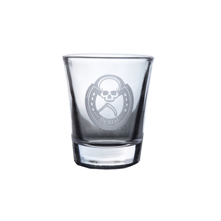 Four Horsemen DEATH Shot Glass