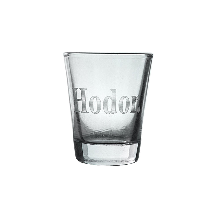 2oz Hodor Shot Glass
